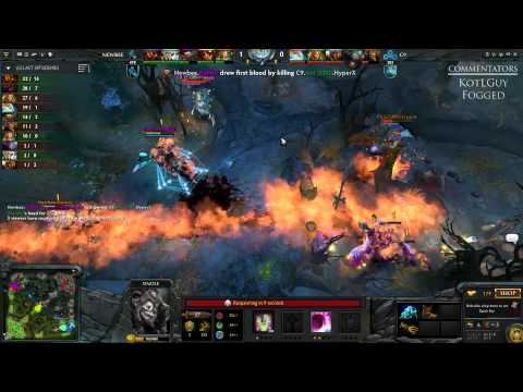 NewBee vs Cloud9 - WCA - G3