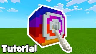 Minecraft: How To Make an Instagram Logo House