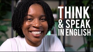 THINK AND SPEAK IN ENGLISH | How To Talk About Your Relationships Fluently In English