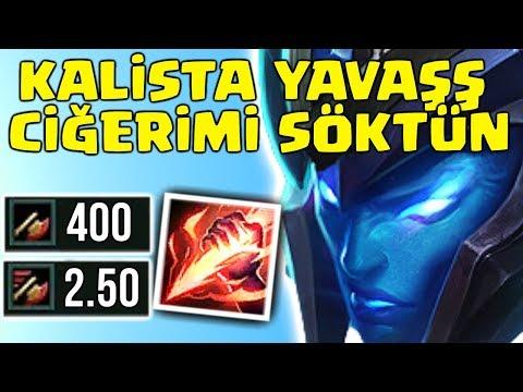 KALISTA YAVAŞ CİĞERİMİ SÖKTÜN...