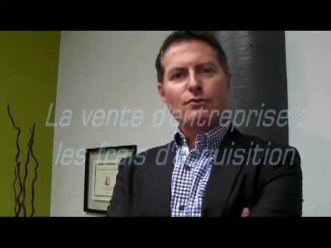 La vente d'entreprise : les frais d'acquisition
