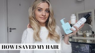 HOW I SAVED MY HAIR | HAIRCARE TIPS | Louise Cooney