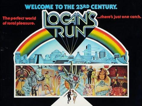 1976 Logan's Run - Flat Earth & NWO Dystopian Reality Predictive Programming From Decades Past