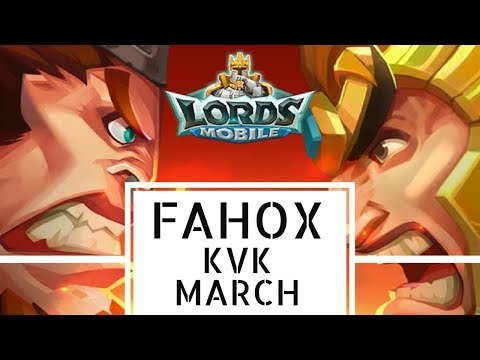 Lords Mobile FaHoX - KvK March 2018