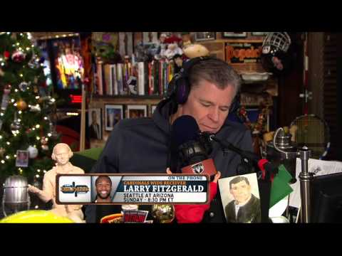 Larry Fitzgerald on The Dan Patrick Show (Full Interview) 12/16/14
