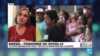 Covid-19 au Brésil : Saol Paulo redoute 111 000 morts en six mois