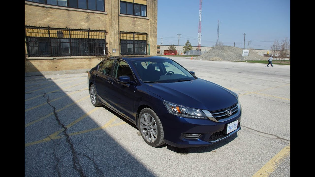 Superb 2013 Honda Accord Sport Sedan   Review   YouTube