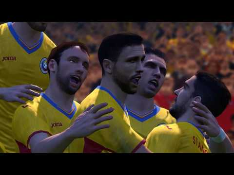 COSTA RICA VS ROMANIA FULL MATCH WORLD CUP  * PES 2017 gameplay PC 1080P