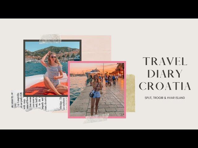 Croatia travel diary '19