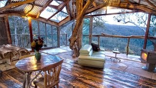 Video The World's Best Treehouse (with a spa!) - is also the World's Best Airbnb! download MP3, 3GP, MP4, WEBM, AVI, FLV November 2017