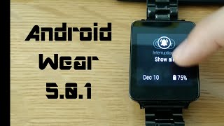 Android Wear 5.0.1 Lollipop Update Features