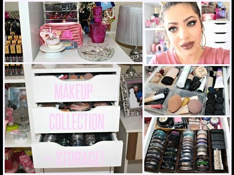MAKEUP COLLECTION + STORAGE PT.1 ♡ - Smashing Darling x