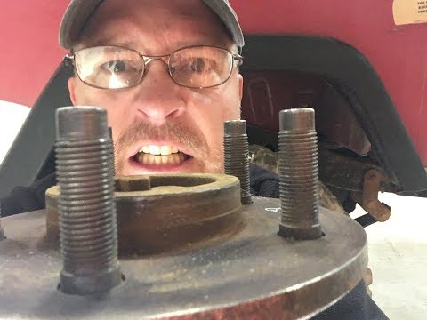 How Can It Take Two Weeks to Replace a Wheel Stud ?!? Fixing a Ford 9 Axle