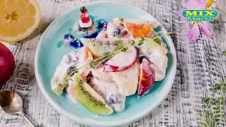 Фруктовый салат, как приготовить за 10 минут