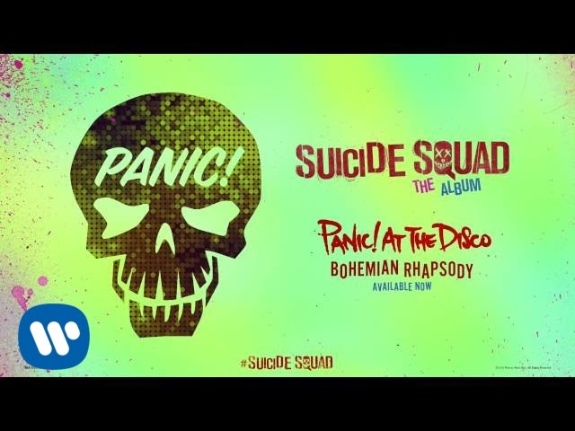 Panic! At The Disco - Bohemian Rhapsody (from Suicide Squad: The Album) (Official Audio)