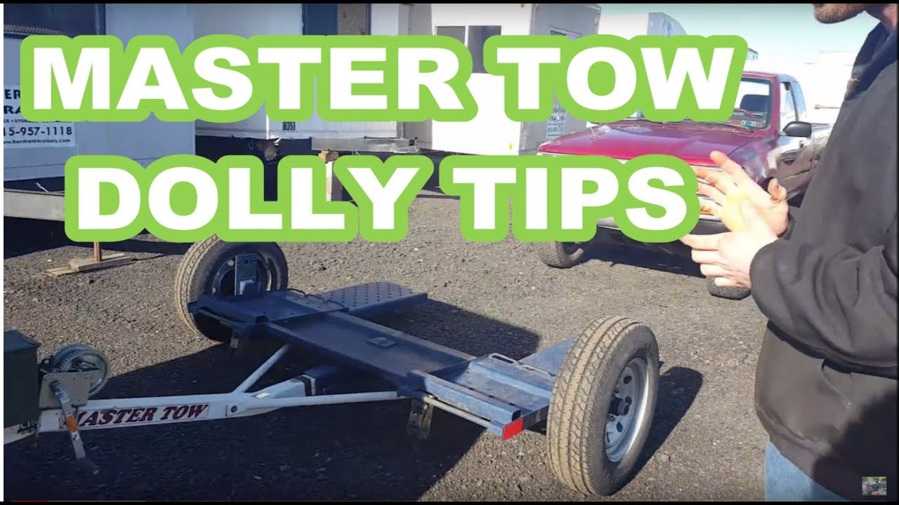 Master Tow Car Dolly Overviewtips 80thd 77t How To Use Quick Youtube