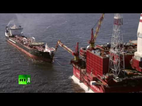 Documentary «Cold Rush. Drilling For Oil Amid Arctic Ice» (RUSSIA Today)