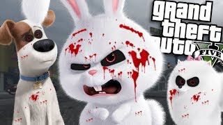 The EVIL Secret Life of Pets MOD (GTA 5 PC Mods Gameplay)