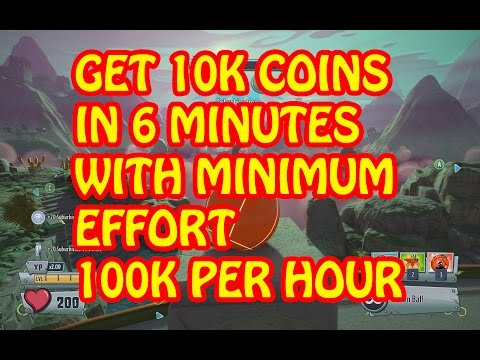 PvzGW2 - how to get 100K coins per hour with minimum effort