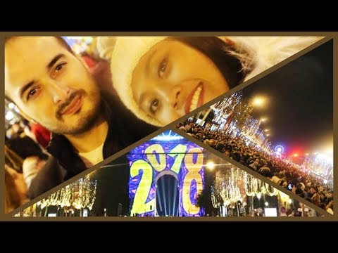 "VLOG# PARIS NEW YEAR 2018 II CHAMPS ELYSEES"" PERANCIS"