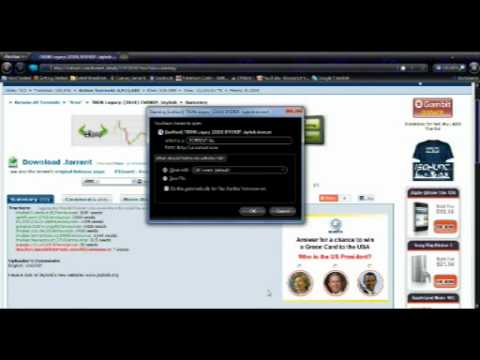 How to download games/softwares/movies using torrent