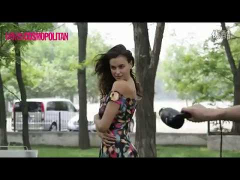 Irina Shayk - Cosmopolitan China 2014