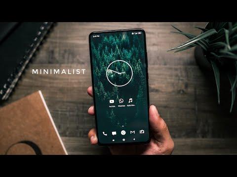 The Minimalist Android Setup!