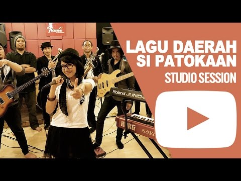 LAGU DAERAH SI PATOKAAN - Studio Session By HoneybeaT