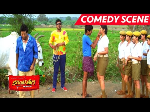 Dhanraj Full Comedy With Lady Constables - Full Comedy - Current Theega Movie Scenes