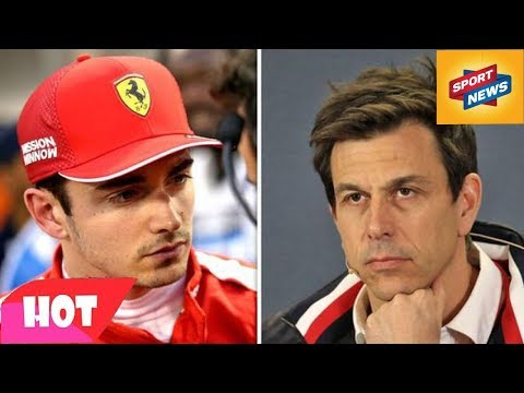 Lewis Hamilton might NOT like what Mercedes boss Toto Wolff has said about Charles Leclerc