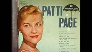 Patti Page - And So To Sleep Again YouTube Videos