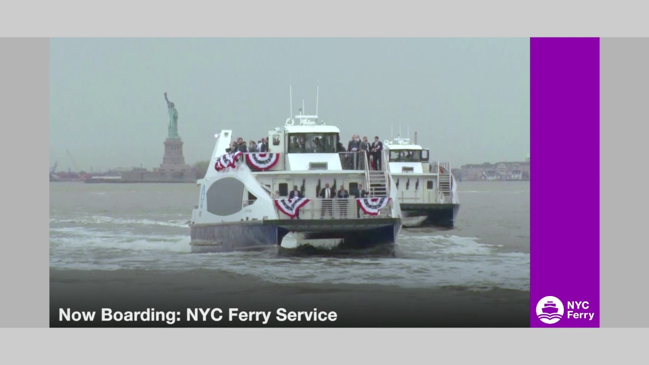 FY 2018 Executive Budget, NYC Ferry Launches in NY Harbor, Push for Tax  Relief for Seniors
