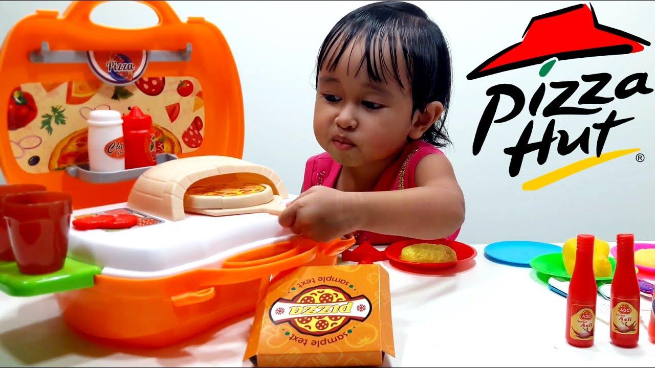 Pizza Toys Playset Mainan Masak Masakan Membuat Pizza Let S Play Jenica Youtube