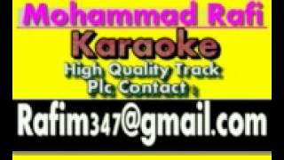 Tune Mujhe Bulaya Shera Waliya Karaoke Aasha 1980 Rafi
