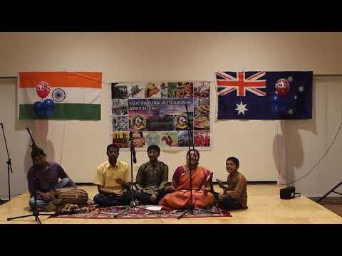 Shruthi Adelaide Classical performance
