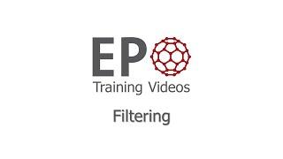 4.1 Filtering