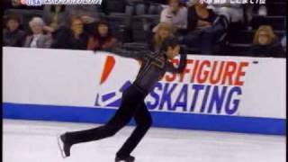 Evan Lysacek - 2008 Skate America SP - Bolero