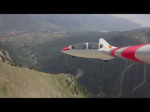 Soaring the Southern French Alps