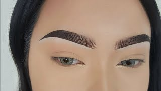 Eyebrow Tutorial - Fake Hair Stroke