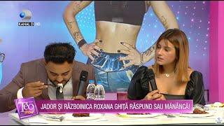 Teo Show (07.05.2021) - JADOR SI ROXANA GHITA raspund sau mananca! Cine s-a descurcat cel mai bine?