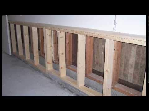 Building A Half Wall In Kitchen