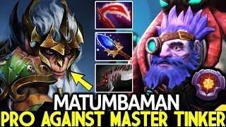 MATUMBAMAN [Monkey King] Pro Carry Try Hard Against Master Tinker 7.23 Dota 2