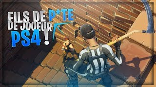 TROLL RAGEUX: IL INSULTE LES JOUEURS PS4/XBOX ! Sur Fortnite