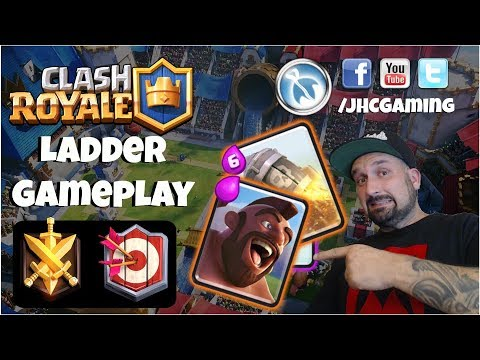 LIVE: ladder gameplay on main and lv1 accounts - Clash Royale