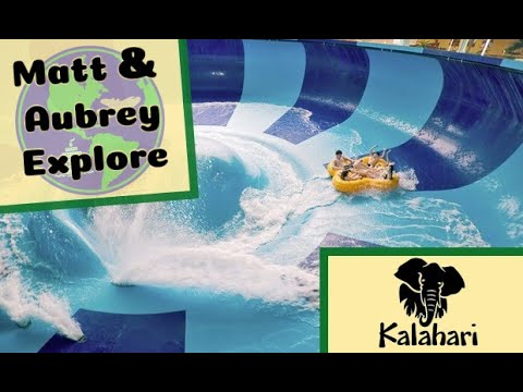 Kalahari - The Midwest's Largest Indoor Waterpark Found Right Here In Sandusky, Ohio!