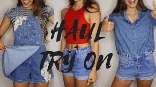 LA CLOTHING HAUL   Brandy Melville, Zara, F21, etc.(Don't forget to SUBSCRIBE! ‣ PREVIOUS VIDEO - https://youtu.be/Ihloaep2loE ‣ MY FITNESS ROUTINE - https://youtu.be/EodW5vaoU30 Follow Me Around!, 2016-06-17T12:46:19.000Z)