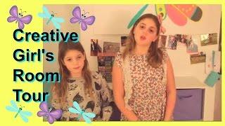 Girls Room Tour | Creative Cute Shared Bedroom Ideas {New 2015}