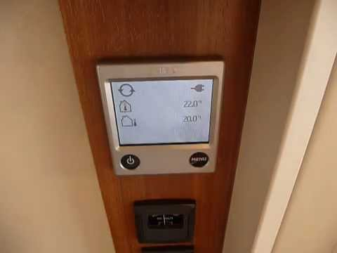 Alde 3010 Touch Screen Control Panel - Demonstration - As Fitted To All Adria Astella Caravans