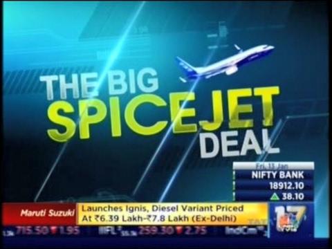 Spicejet's Big Acquisition - CNBC  - TV18 Coverage