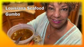 SEAFOOD GUMBO | The Best Seafood Gumbo Recipe EVER!